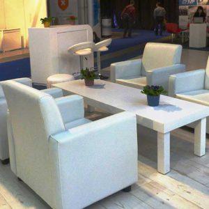שולחן נמוך מאורך לבן 3